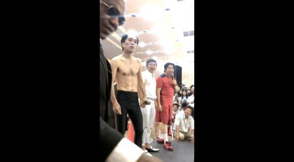 江頭2時:50分 パチンコ営業で観客がステージに乱入しマジギレ2chまとめ